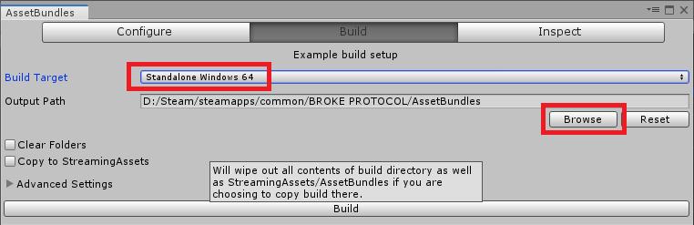 Build Asset Bundle