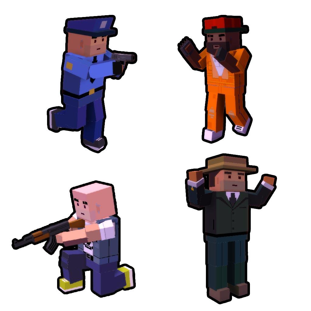 Broke Protocol Characters