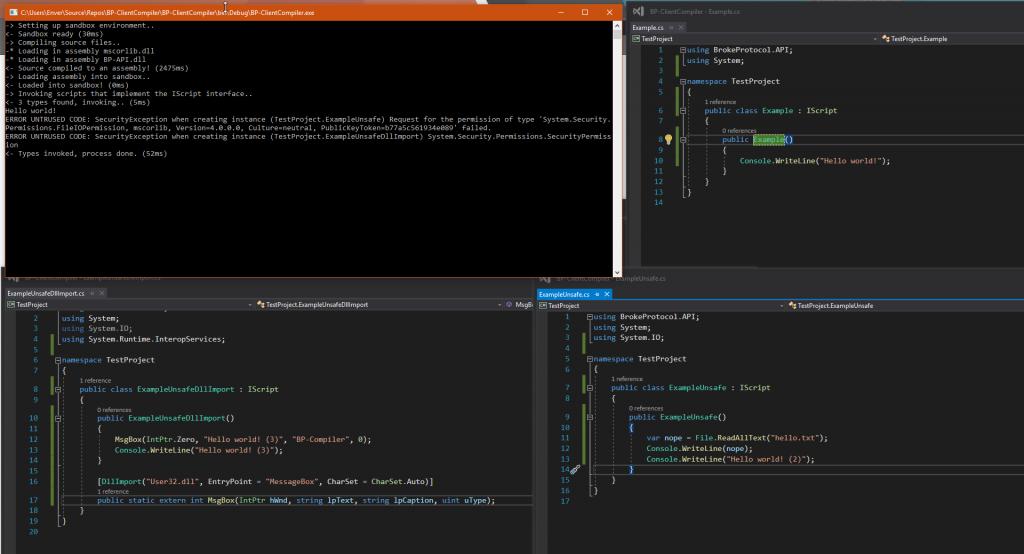 Client Compiler