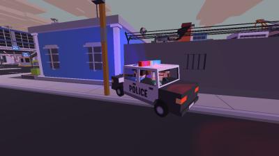 Police Car Full