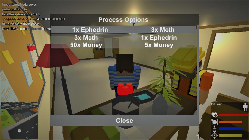 Process Options