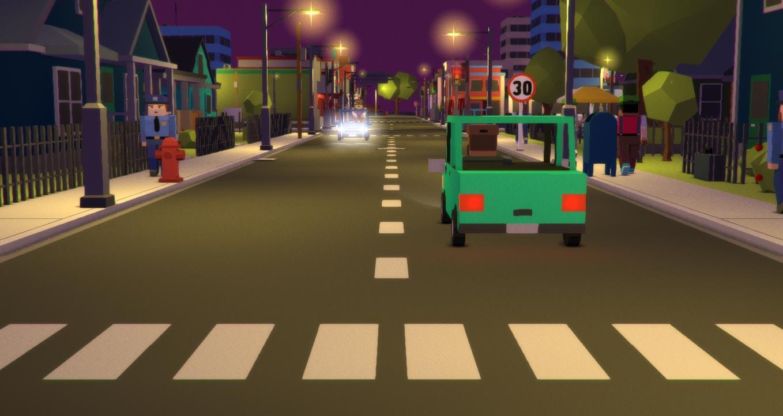 Low-poly Street