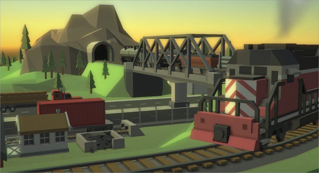 Trains Scenery